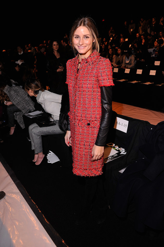 Olivia Palermo attended New York Fashion Week.