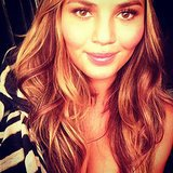 She showed off her new 'do with a gorgeous selfie. Source: Instagram user chrissyteigen