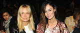 Style Stalk: Lara Bingle and Nicole Trunfio Front Row at New York Fashion Week