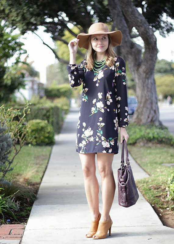 Congrats, TheSteeleMaiden! Your floral dress is keeping us looking forward to warmer days.