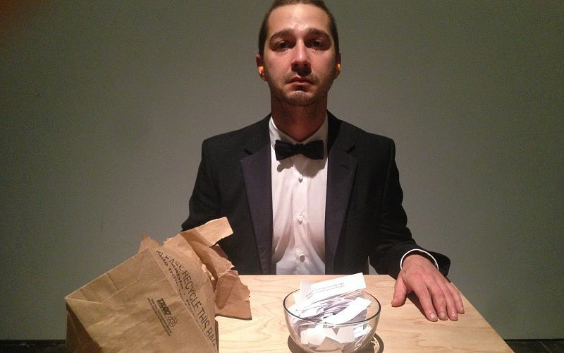 Here's What Happens Inside Shia LaBeouf's Bizarre Art Exhibit