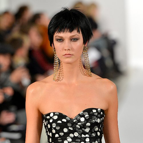Oscar de la Renta Fall 2014 Hair and Makeup | Runway