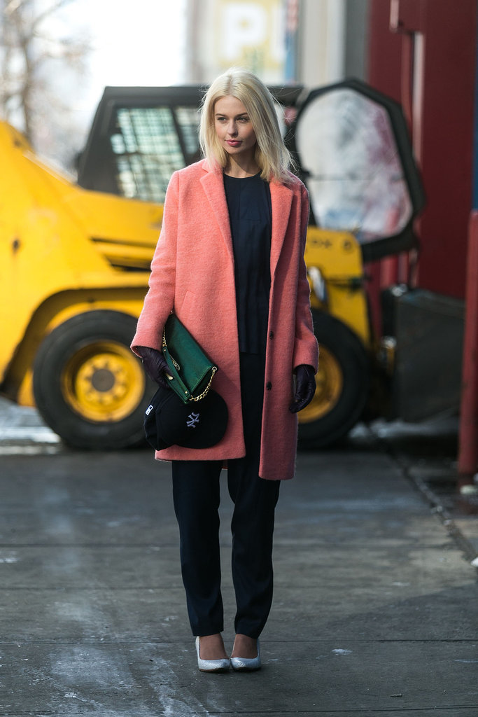 When Winter wear looks this good, who wouldn't want to bundle up? Source: Melodie Jeng/The NYC Streets
