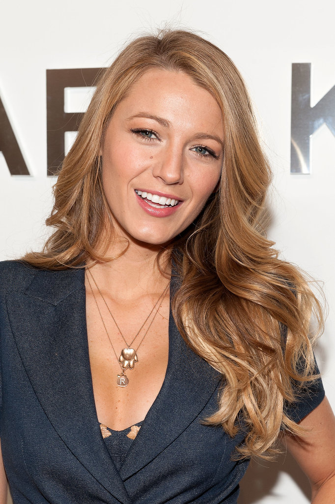 Blake Lively at Michael Kors