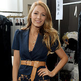 Blake Lively at the Michael Kors Fall 2014 Runway Show