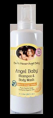 Earth Mama Angel Baby Shampoo and Body Wash