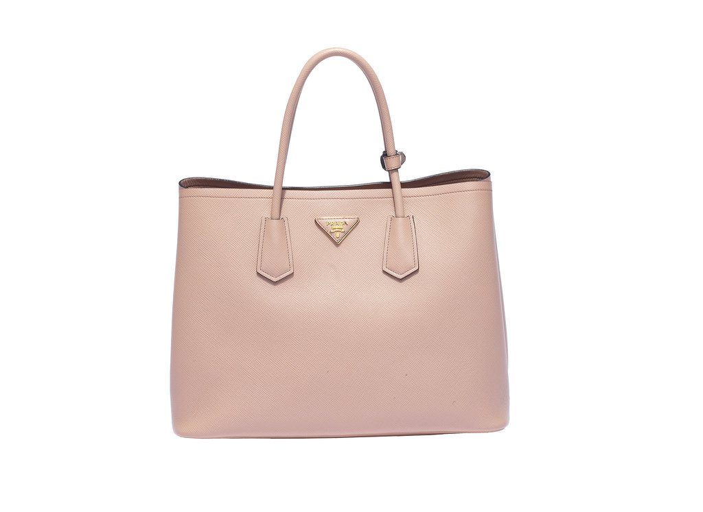 Prada Double Bag in Cammeo