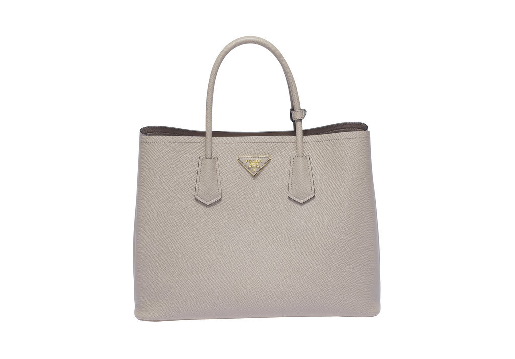 Prada Double Bag in Pomice