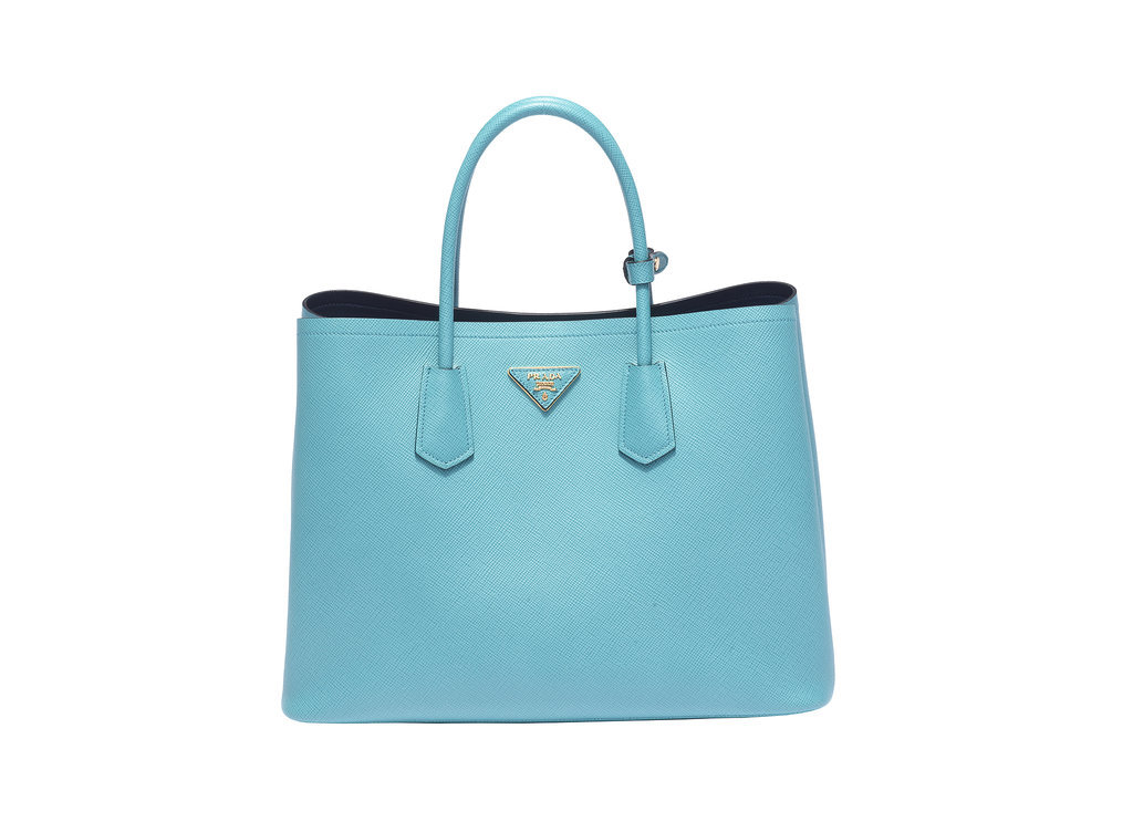 Prada Double Bag in Turchese
