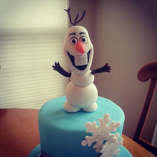 Disney Frozen Cake Ideas