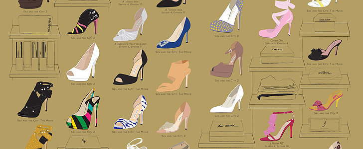 The Easiest Way to Get Carrie Bradshaw's Shoes Into Your Closet