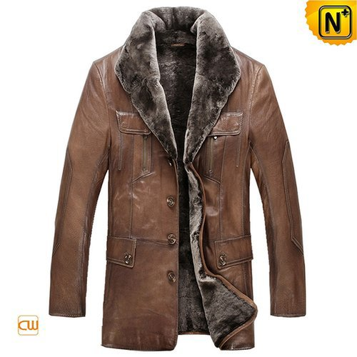 Mens Cosimo Sheepskin Shearling Coat CW868801