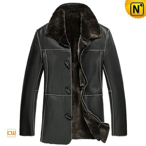 Shearling Sheepskin Jacket Coat Men CW878574