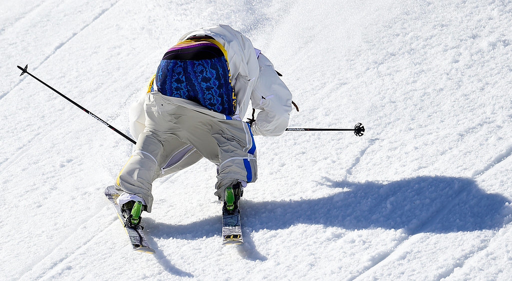 Swedish Skier Loses His Pants During the Olympics