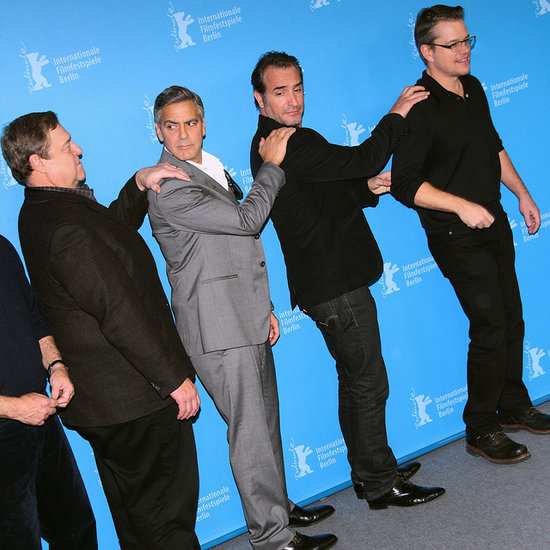 The Monuments Cast During Promo Tour With George Clooney