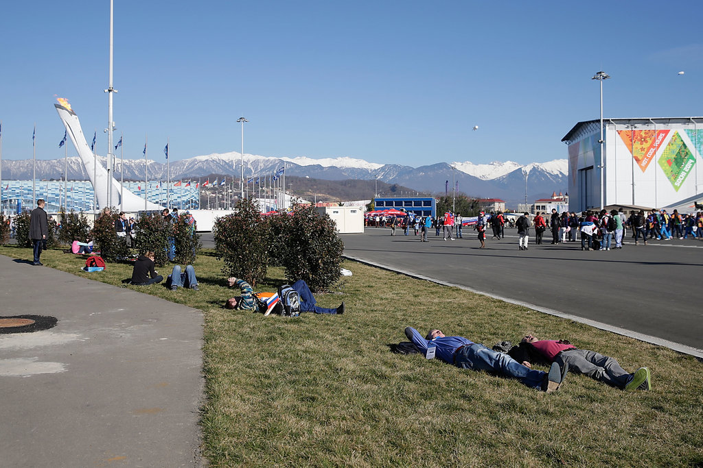 Meanwhile, It's 65°F in Sochi