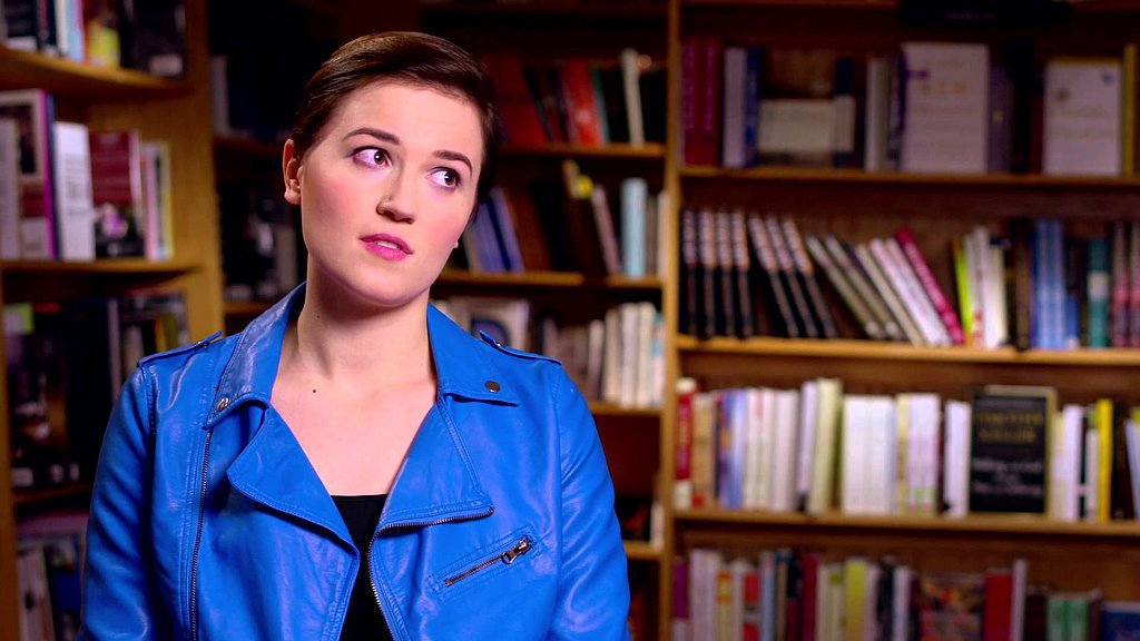 Veronica Roth's advice for fans