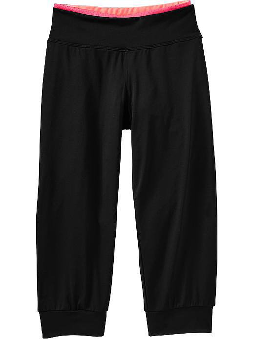 Active Loose-Fitting Capris