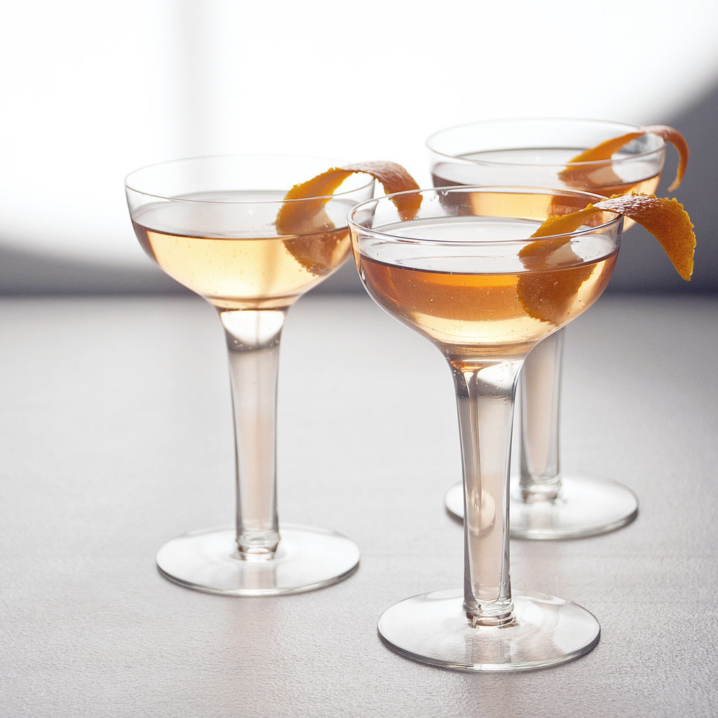 Sparkling Lillet and Grapefruit Cocktail