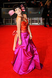 Lily Allen at the 2014 BAFTA Awards.
