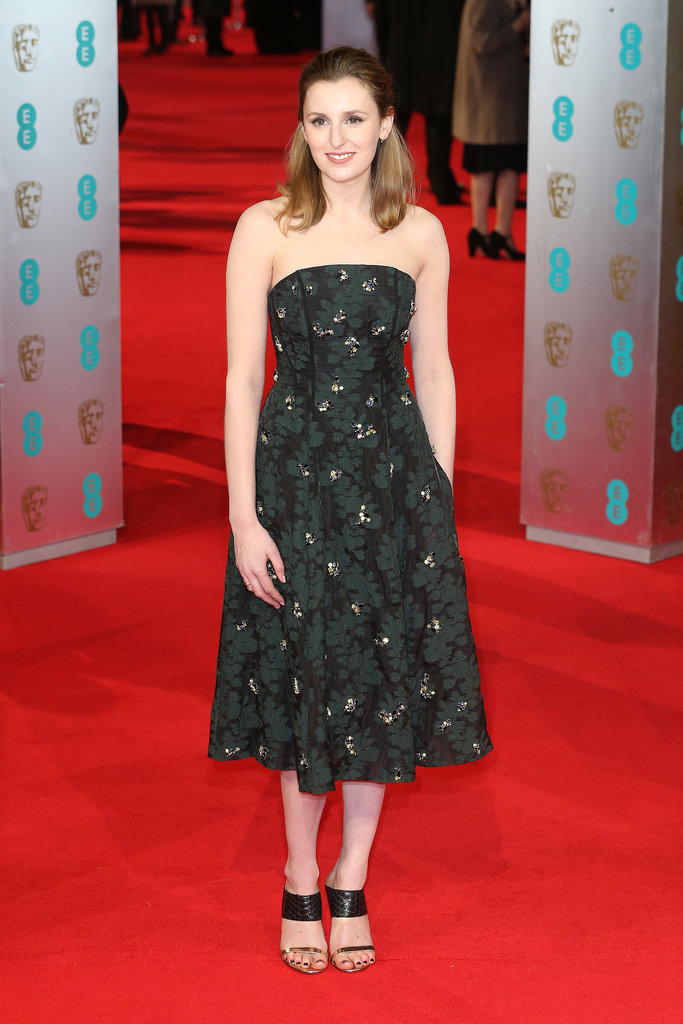 Laura Carmichael at the 2014 BAFTA Awards.