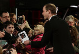 All Eyes Were on Prince William at the BAFTAs