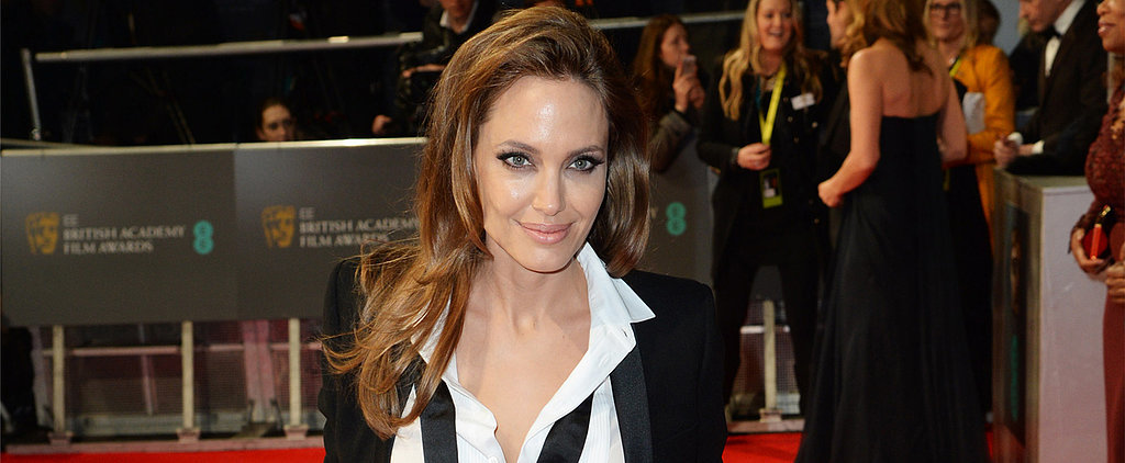 Do You Love Angelina Jolie's Laid-back Approach to BAFTA Beauty?
