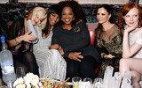 Rita Ora, Naomi Campbell, Georgina Chapman, and Karen Elson mingled with Oprah at Harvey Weinstein's celebration.