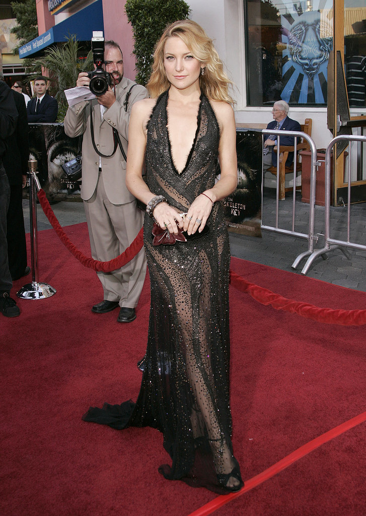Kate Hudson in Versace at the Skeleton Key Premiere