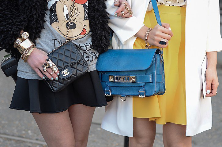 A team of luxe bags. Source: Gorunway