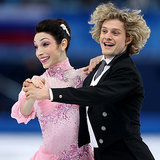 Meryl Davis and Charlie White at the 2014 Olympics