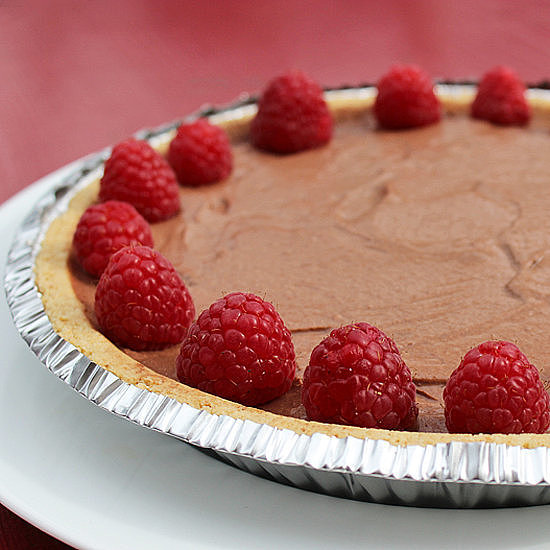 Three-Ingredient Vegan Chocolate Pie