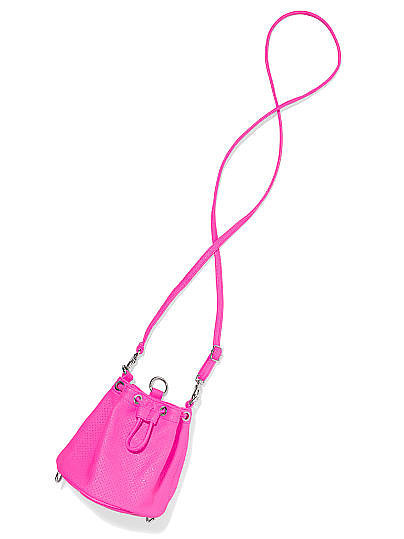 Victoria's Secret Pink Mini Convertible Bucket Bag