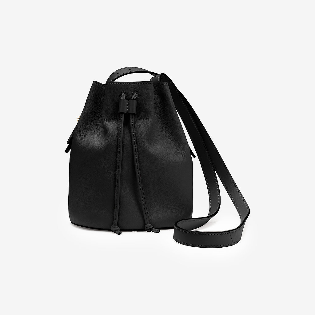 Kate Spade Saturday Mini Black Drawstring Bucket Bag