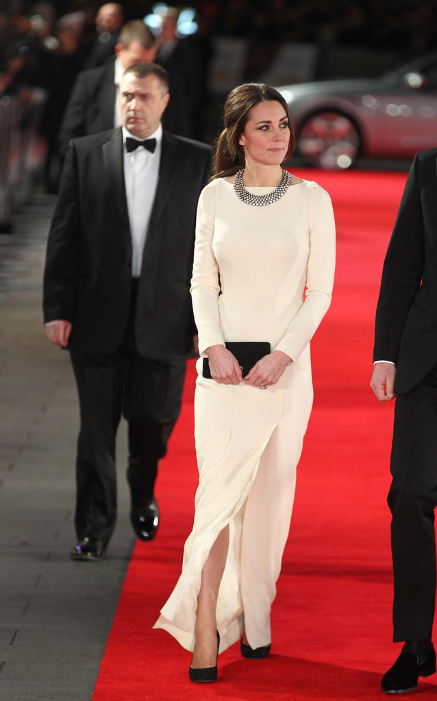 Kate Middleton in Roland Mouret Dress