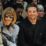 Bradley Cooper Sits Front Row at Burberry With Anna Wintour