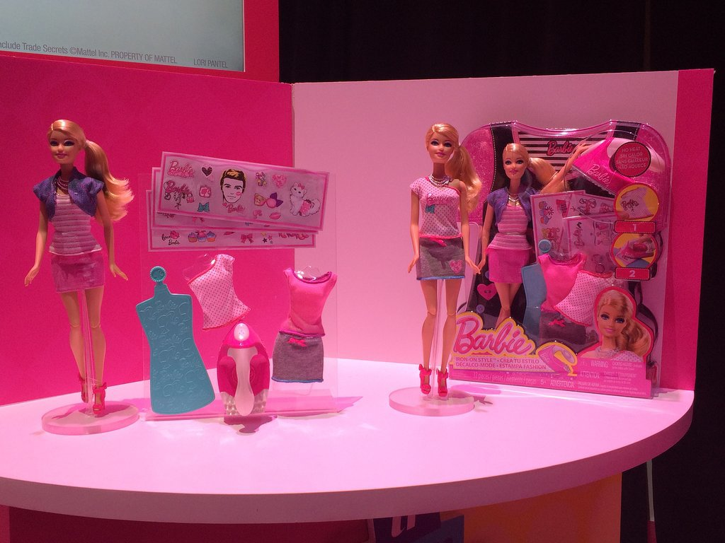 Barbie Iron-On Style