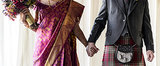 Kilts and Saris: Mimi and Stuart's Scottish-Indian Wedding