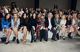She Sat Front Row — With Anna Wintour