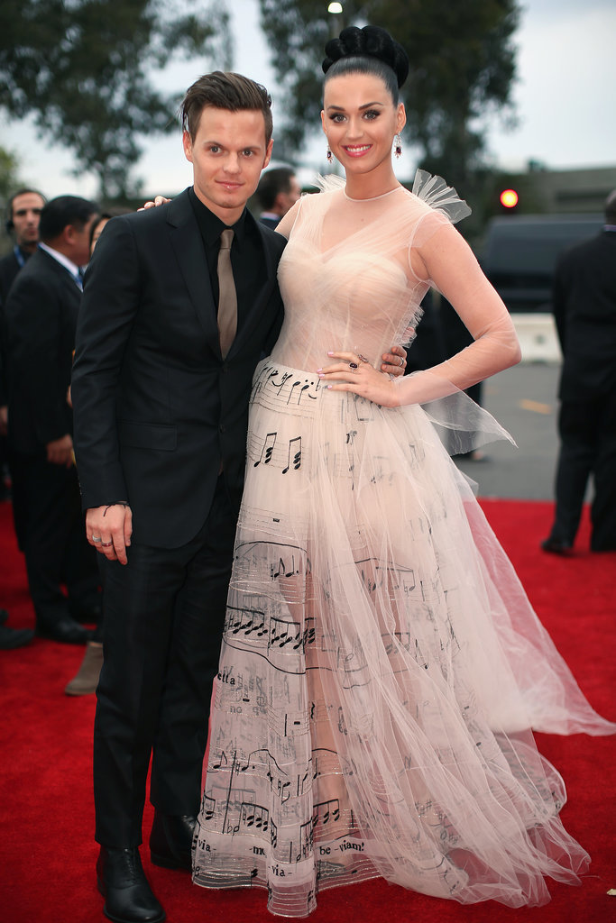 Katy Perry's brother, David Hudson, walked the red carpet with his famous family member at the Grammys.
