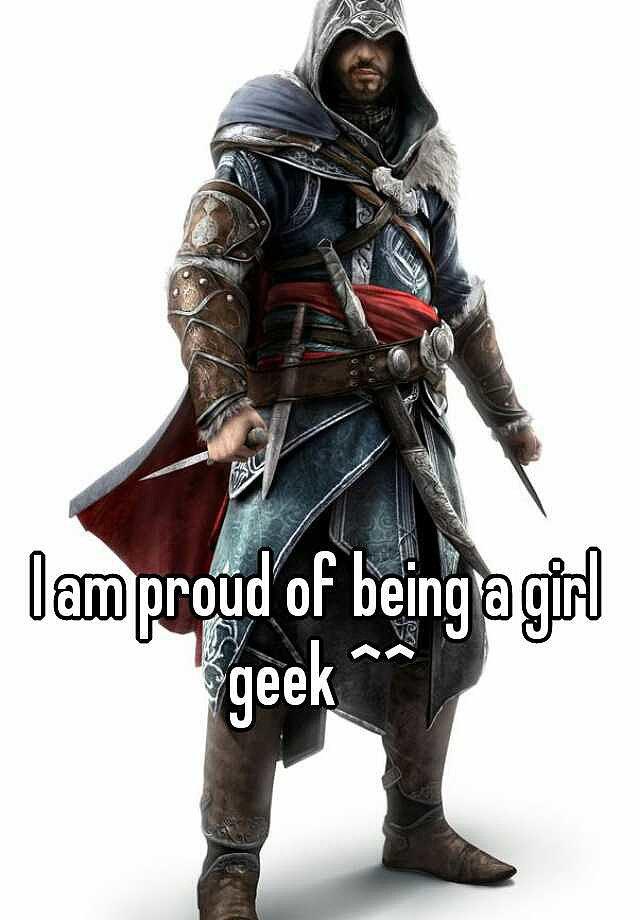 """<a href=""""http:/... Am Proud of Being a Geek Girl</a>"""