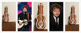 "Ed Sheeran Puts the ""Ginger"" in Gingerbread Guitar Cookies"