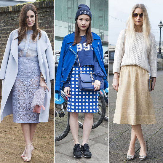 London Fashion Week Street Style in February 2014