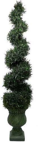 Laura ashley lifestyles silk spiral topiary