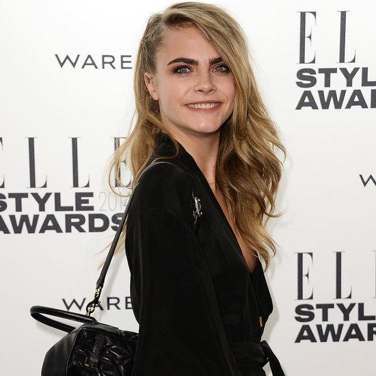 Cara Delevingne and Emma Watson at 2014 Elle Style Awards
