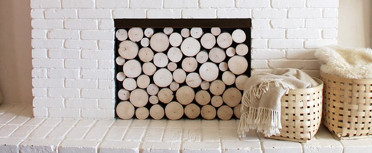 3 Clever Ways to Fake the Stacked Logs Look
