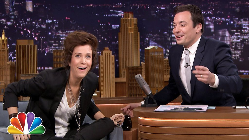 Kristen Wiig Dresses Up as Harry Styles