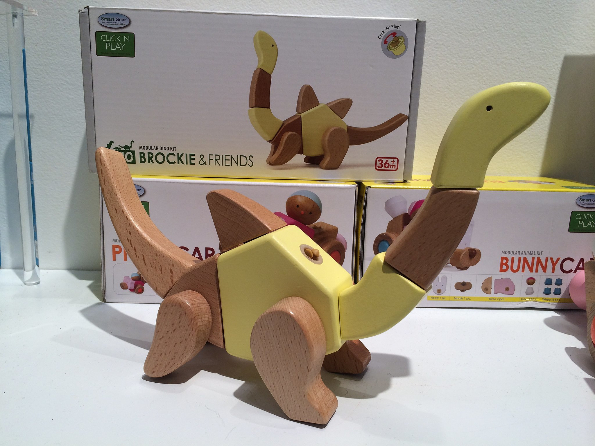 Wonderworld Click N Play Dinosaur