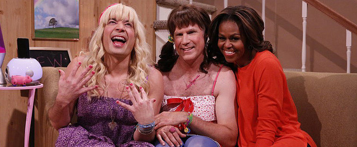 "The First Lady Joins Jimmy Fallon and Will Ferrell on ""Ew!"""