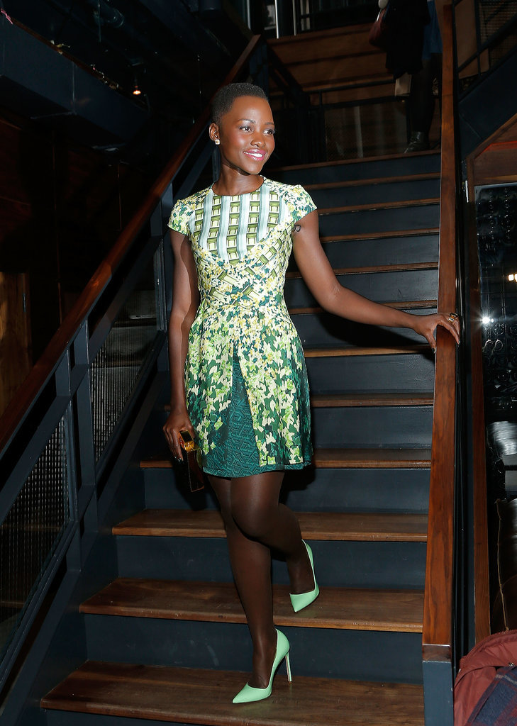 Lupita Nyong'o at the DuJour Magazine Party